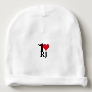 I Love River of Janerio Brazil Series Baby Beanie