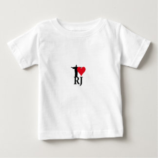 I Love River of Janerio Brazil Series Baby T-Shirt