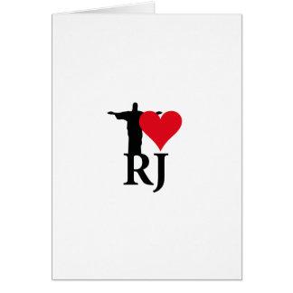 I Love River of Janerio Brazil Series Card