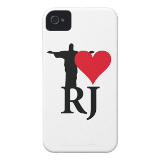 I Love River of Janerio Brazil Series Case-Mate iPhone 4 Case