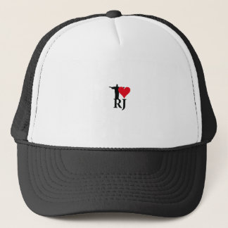 I Love River of Janerio Brazil Series Trucker Hat