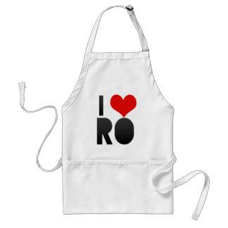 I Love RO Apron