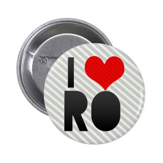 I Love RO Buttons