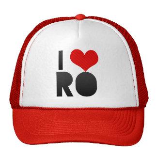 I Love RO Hats