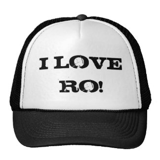 I LOVE RO! MESH HATS