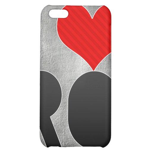 I Love RO iPhone 5C Cases
