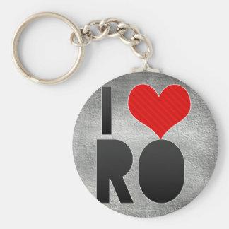 I Love RO Key Chains