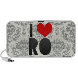 I Love RO Notebook Speakers