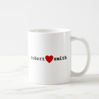 I Love Robert Smith Coffee Mug