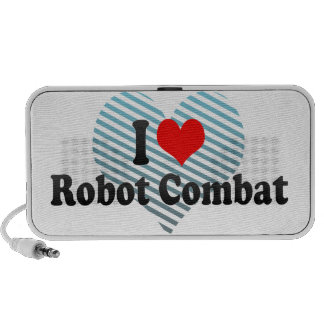 I love Robot Combat Portable Speakers