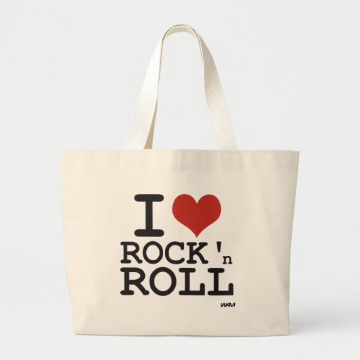 I love Rock and roll Bags