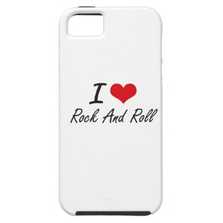 I Love Rock And Roll Case For The iPhone 5