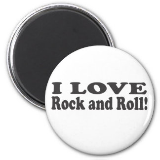 I Love Rock and Roll! Magnet