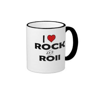 I love Rock and Roll Mugs