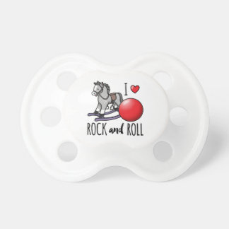 I Love Rock and Roll Pacifiers