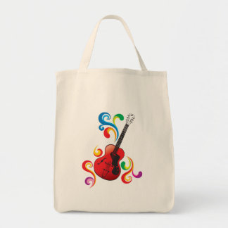 i love rock and roll products grocery tote bag