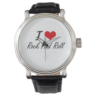 I Love Rock And Roll Wristwatches