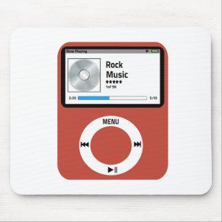 I love Rock Music Mousepad
