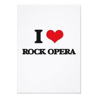 I Love ROCK OPERA Personalized Invites