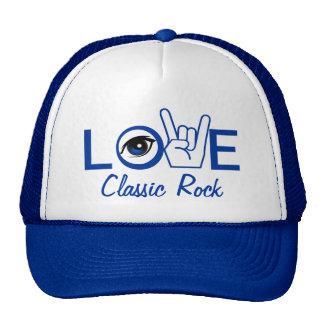 I Love Rock & Roll Trucker Hats