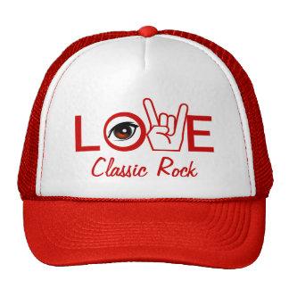 I Love Rock & Roll Mesh Hat
