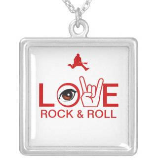 I Love Rock Roll Necklace