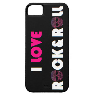 I Love Rock&Roll Phone Case iPhone 5 Covers