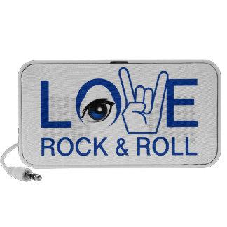 I Love Rock & Roll Notebook Speaker