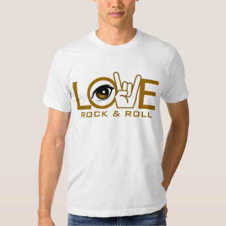 I Love Rock & Roll T Shirt
