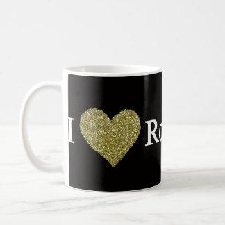 i love rock'n roll coffee mug