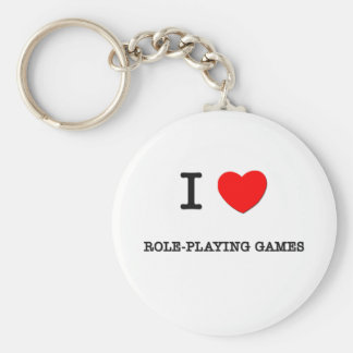 I LOVE ROLE-PLAYING GAMES KEY CHAINS