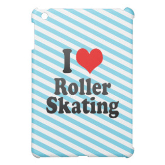 I love Roller Skating iPad Mini Cover