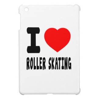 I Love Roller Skating Cover For The iPad Mini
