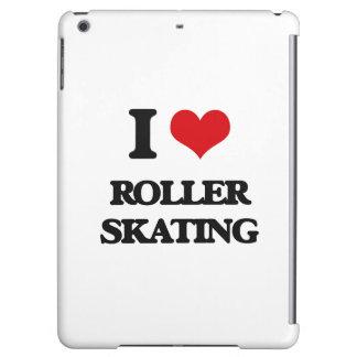 I Love Roller Skating iPad Air Cover