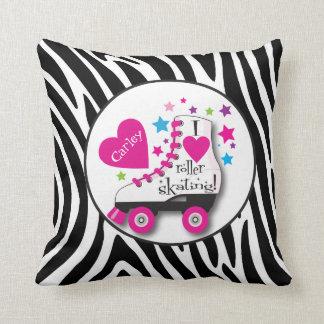 I Love Roller Skating Pillow Cushions