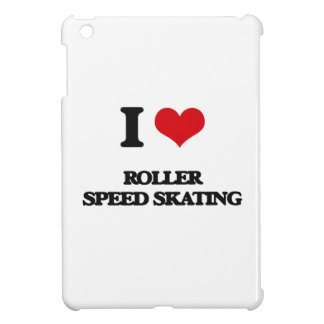 I Love Roller Speed Skating iPad Mini Cover