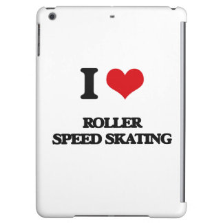 I Love Roller Speed Skating Case For iPad Air