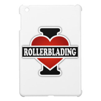 I Love Rollerblading iPad Mini Cover