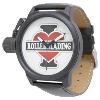 I Love Rollerblading Watch