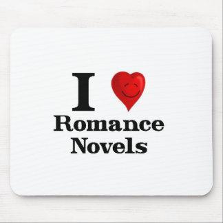 I Love Romance Novels Mouse Pad