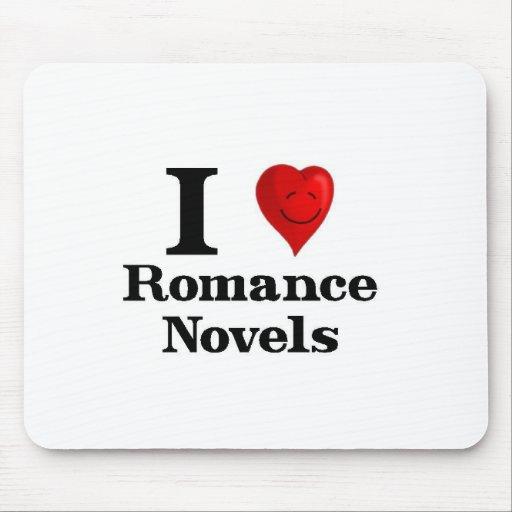 I Love Romance Novels Mousepads
