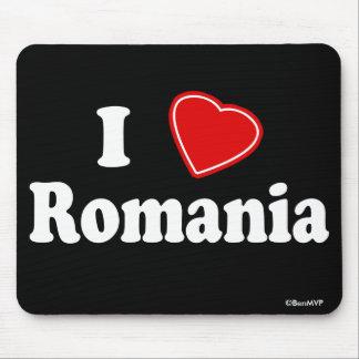 I Love Romania Mouse Pad