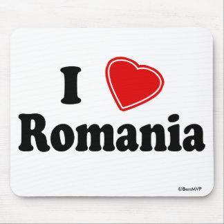 I Love Romania Mousepad