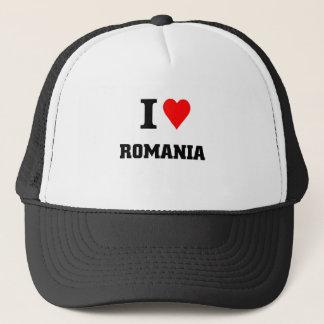 I love Romania Trucker Hat