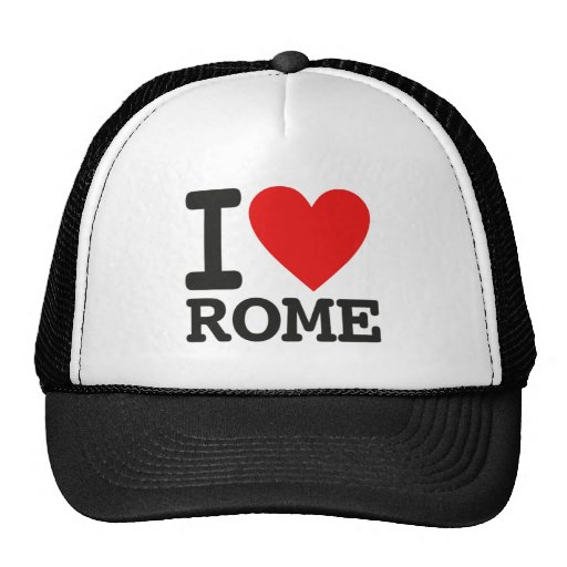 I love Rome Mesh Hat