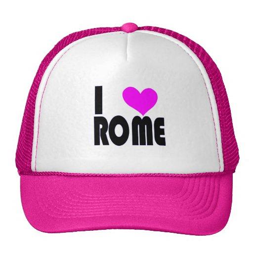 I Love Rome hat