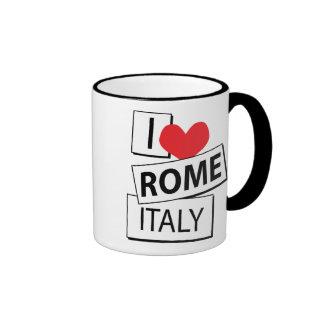 I Love Rome Italy Coffee Mug