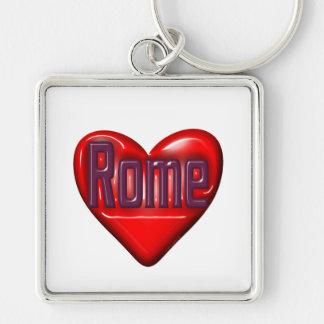 I Love Rome Key Chains