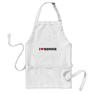 I LOVE RONNIE APRON