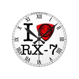 I love Rotary engine - Clock